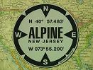 Alpine, NJ GPS Decal