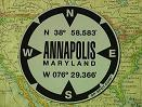 Annapolis, MD GPS Decal