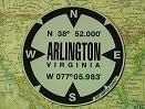 Arlington, VA GPS Decal